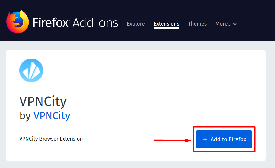 How to Install and Connect the VPNCity Firefox Extension - VPNCity Blog