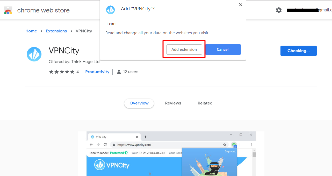 How to Install and Connect the VPNCity Chrome Extension - VPNCity Blog