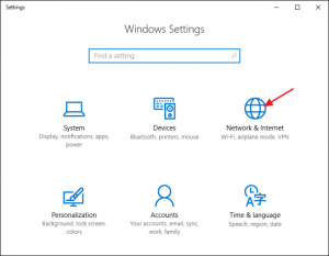 windows chromecast settings